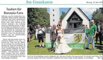 Borussen-Hochzeit